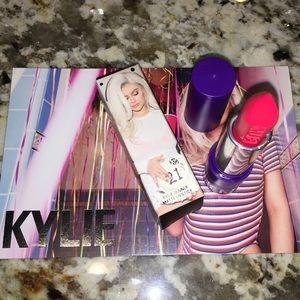 """Kylie 21st Birthday """" RAGER"""" Matte Lipstick"""